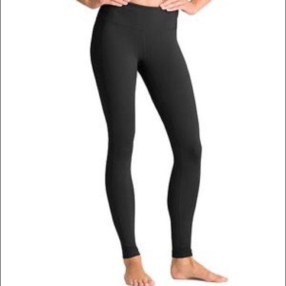 1d23a62ea977 Athleta Pants - Athleta Revelation Black Leggings Tight